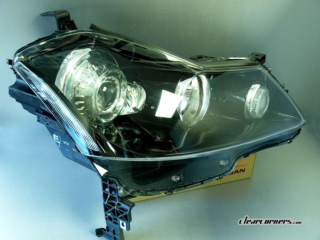 06 10 Infiniti Y50 M35 M45 Fuga Super Led Headlights