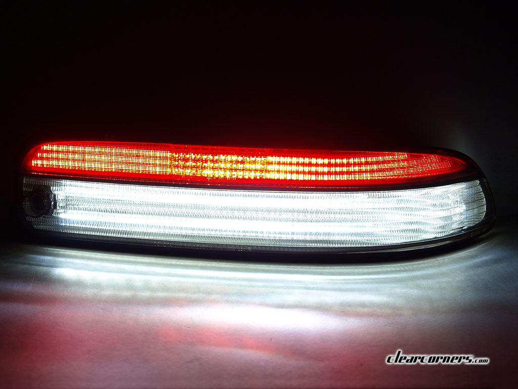 95 96 Lexus Z3 Sc300 Sc400 Soarer 1 2 Red 1 2 Clear