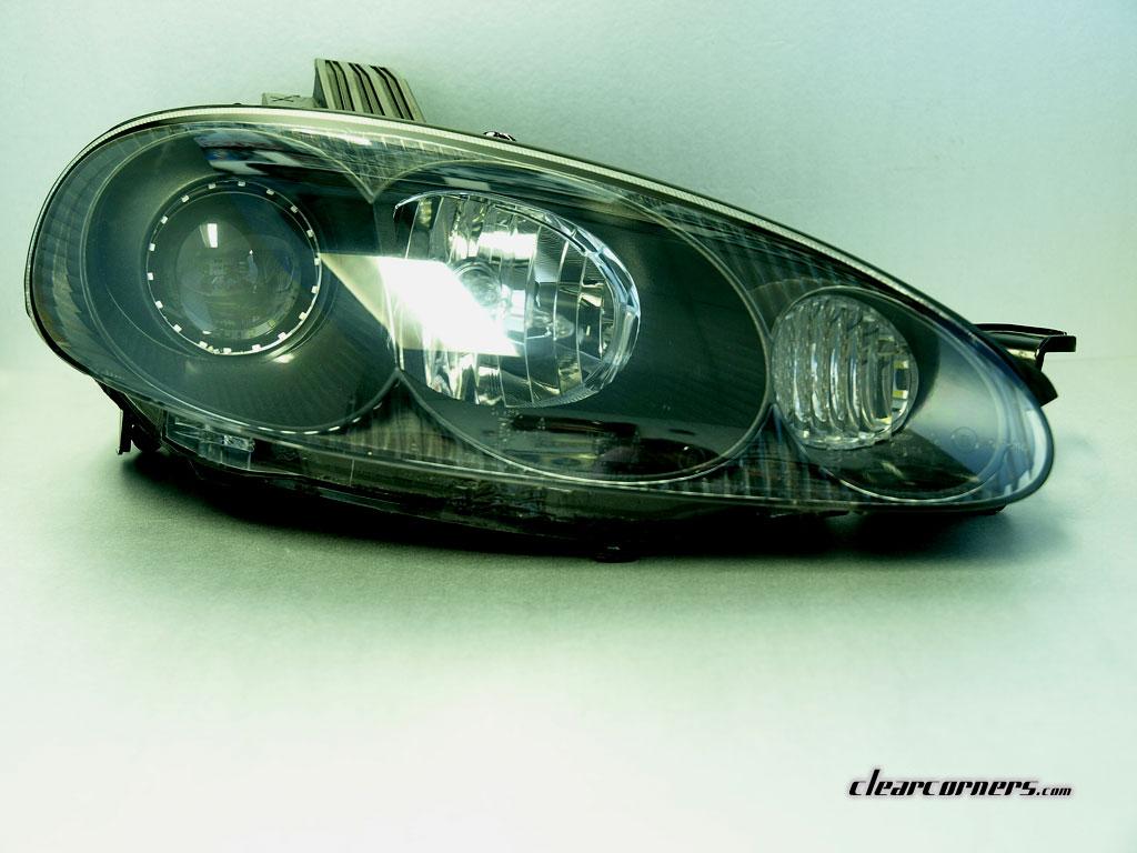 01 05 Mazda Nb Mx 5 Miata Super Led Headlight Matte