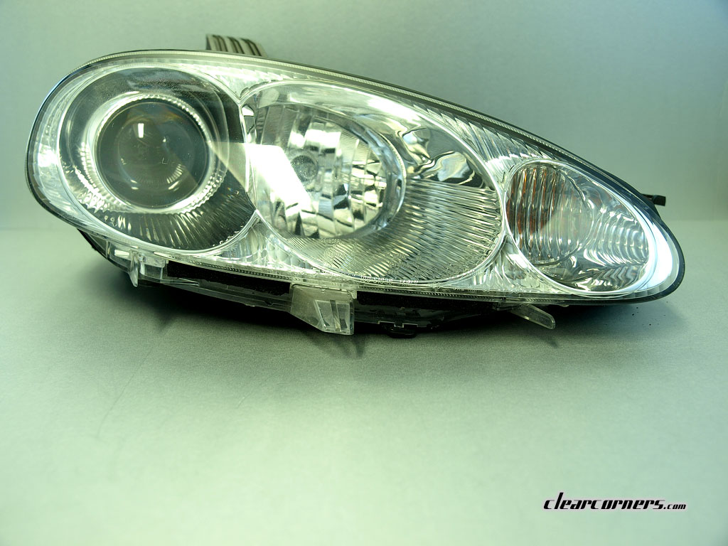 01 05 Mazda Nb Mx 5 Miata Factory Headlight Chrome Finish