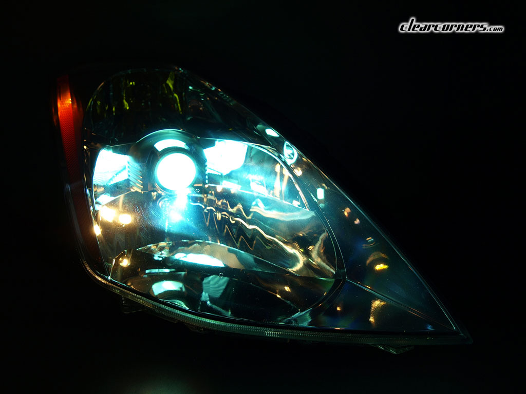 03 05 Nissan Z33 350z Fairlady Z Clear Led Headlights