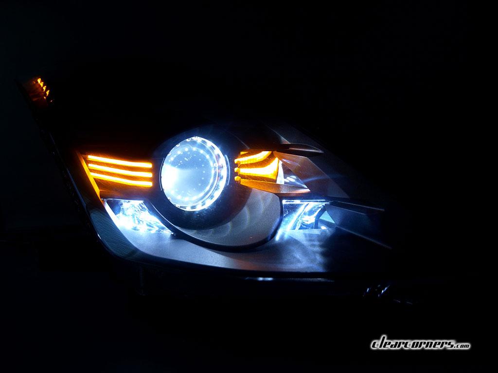06 08 Nissan Z33 350z Fairlady Z Amber Super Led